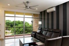 Living hall Condominium stock photography