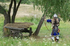 Living history.Medieval Stock Images