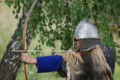 Living history.Medieval Royalty Free Stock Photography