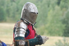 Living history.Medieval Stock Image