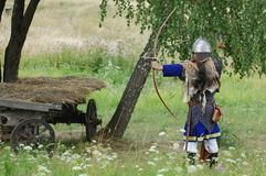 Living history.Medieval Stock Photo