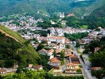 Living history in Ouro Preto (Minas Gerais - Brazil) Royalty Free Stock Photo