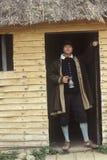 Living history reenactment of Pilgrims Royalty Free Stock Photography