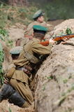 Living history.WWII Stock Images