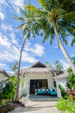 Living house at tropical resort Royalty Free Stock Images