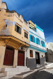 Living houses in old Medina, Tangier Royalty Free Stock Photos