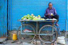 Daily living in India Stock Photography