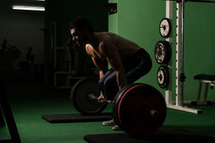 Living Large - Dead Lift Stock Photo