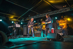 Living legend of the blues, john mayall with band Royalty Free Stock Photography