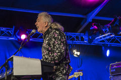 A living legend, john mayall, england, notodden blues festival Royalty Free Stock Images