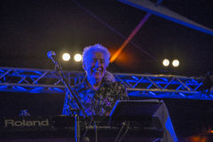 A living legend, john mayall, england, notodden blues festival Stock Photography