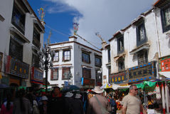Living in Lhasa Stock Images