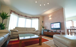 living luxurious room στοκ φωτογραφίες