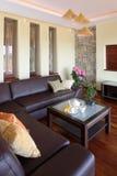 living modern room Στοκ φωτογραφία με δικαίωμα ελεύθερης χρήσης