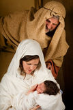 Living nativity Stock Image