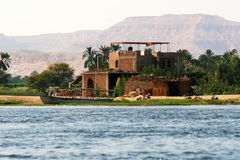 Living by the Nile Royalty Free Stock Photography