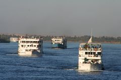 Living at river nile Royalty Free Stock Photography