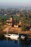 Living at river nile Royalty Free Stock Photo