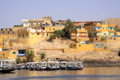 Living on the River Nile Royalty Free Stock Photography