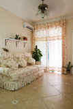 Living room. The interior of a living room royalty free stock photos