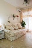 Living room. The interior of a living room royalty free stock images