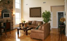 Living Room. Beautiful living room Stock Images