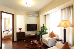 Living room. Elegant hotel or apartment  living room Royalty Free Stock Image