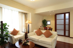 Living room. Elegant hotel or apartment  living room Stock Photo