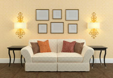 Living-room Royalty Free Stock Images