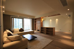 Living room. A living room of an apartment Royalty Free Stock Photography