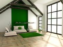 Living room royalty free illustration