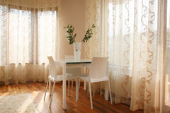 Living room. With table and chairs royalty free stock photos