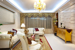 Living room. The style of classical. guangzhou  china Royalty Free Stock Image