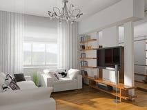 Living-room Obrazy Stock