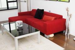 living room Arkivfoton
