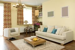 Free Living Room Royalty Free Stock Image - 3698296