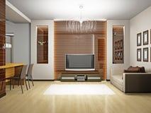 Living room 3D Stock Photos