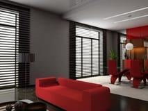 Living room stock illustration