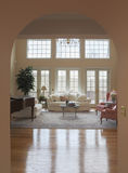 Living Room Archway Royalty Free Stock Image