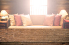 Living Room Asian Vintage Style decoration Stock Images