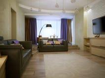 Living room avant-garde style Stock Photo