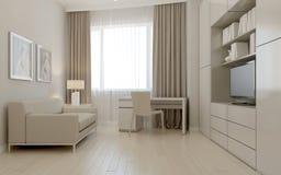 Living room avant-garde style Stock Images
