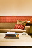 Living room with beautiful interior design Stock Photography