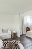 Living room and bedroom Royalty Free Stock Images