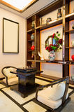 Living room with Chinese style Royalty Free Stock Photography