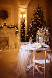 Living room in Christmas time. Stock Photography