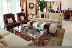 Living room, classic design Stock Image