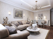 Living room classic style Royalty Free Stock Photo