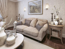 Living room classic style Royalty Free Stock Photography