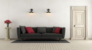 Living room in classic style Royalty Free Stock Images